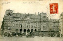 CPA - PARIS -GARE SAINT-LAZARE - Autres Monuments, édifices