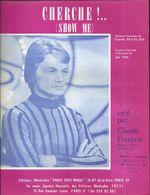 """""""Cherche !..."""" (Show Me) Claude François - Paroles Originales Et Musique De Joé Tex - Music & Instruments"""