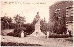 45 JURANVILLE - Monument Aux Morts De La Grande Guerre - Frankrijk