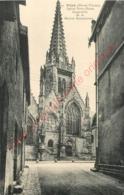 35.  VITRE .  Eglise Notre Dame . Gargouille De La Maison Renaissance . - Vitre