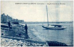 14 GRANDCAMP-les-BAINS - Le Service De La Douane - Frankrijk