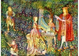 Tapisseries : Dame à L'orgue Dite Dame De Rohan Château Du Roi René Angers (49) - Fine Arts