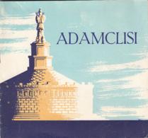 7922FM- TOURISM BROCHURES, ADAMCLISI TROPAEUM TRAIANI MONUMENT, 24 PAGES, ROMANIA - Reiseprospekte