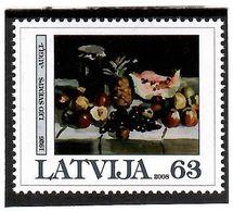 Latvia 2008 . Art Of Leo Svemps. 1v: 63.   Michel # 723 - Latvia