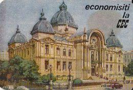 87715- BUCHAREST SAVINGS AND DEPOSITS BANK ADVERTISING, POCKET CALENDAR, 1966, ROMANIA - Calendarios