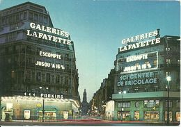 Paris (France) Galeries Lafayette La Nuit, By Night, Notturno - Otros