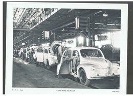 Chaîne De Montage De La 4CV Chez Renault D.P. Paris N°21 De Juin 1952 Photo N°4 - Reproductions