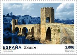 España 2013 Edifil 4794 Sello ** Puente Besalú (Gerona) 2,00€ Spain Stamps Timbre Espagne Briefmarke Spanien Francobolli - 1931-Oggi: 2. Rep. - ... Juan Carlos I