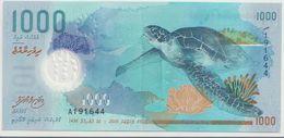 MALDIVES P. 31 1000 R 2015 AUNC - Maldives