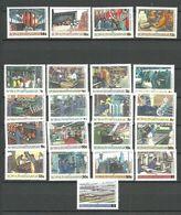 Bophuthatswana 1985 Industry. Mi 148-164, 139, 169, 185, 222  MNH(**) - Bophuthatswana