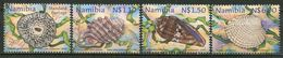 Namibia Mi# 942-5 Postfrisch/MNH - Fauna Shells - Namibia (1990- ...)