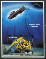 Namibia Mi# Block 40 Postfrisch/MNH - Under Water Mining - Namibia (1990- ...)