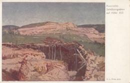 AK - WK I - Russischer Schützengraben - Rotes Kreuz Nr.225 - Feldpost 1917 - Rode Kruis