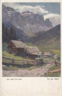 AK - Südtirol - An Der Sella - Rotes Kreuz Karte - 1916 - Rode Kruis