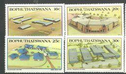 Bophuthatswana 1987 Universities. Mi 190-193 MNH(**) - Bophuthatswana