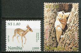 Namibia Mi# 970-1 Postfrisch/MNH - Fauna - Namibia (1990- ...)
