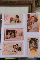 LOT DE 225 FANTAISIE Rose Divers Themes (livrées Sans L Album) - Postcards