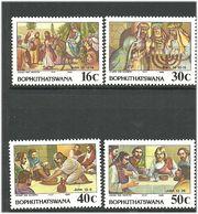 Bophuthatswana 1988 Easter: The Story Of The Suffering Of Jesus Christ (VII). Mi 198-201 MNH(**) - Bophuthatswana