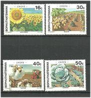 Bophuthatswana 1988 Agricultural Products Mi 206-209 MNH(**) - Bophuthatswana