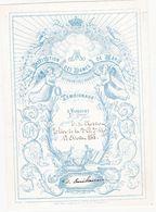 43760 -    St  Josse-ten-Noode Institution Dames De Marie  -  Litho  1885  -   16 X  11 - St-Joost-ten-Node - St-Josse-ten-Noode