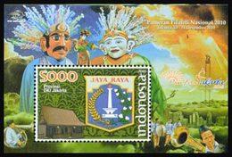 INDONESIE Bloc Emblêmes Provinces 2010 Neuf ** MNH - Indonésie