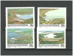 Bophuthatswana 1988 Dams Mi 210-213 MNH(**) - Bophuthatswana