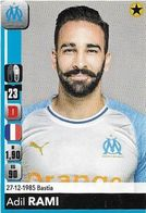 VIGNETTE PANINI Football 2018 2019 OM OLYMPIQUE DE MARSEILLE RAMI Adil N°206 - Trading Cards