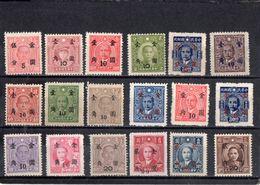 CHINE 1948-9 SANS GOMME - 1912-1949 Republic