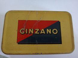 Ancienne Boite Métallique Cinzano - Scatole