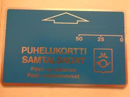 Finland Phonecard OD7a ( Notched ) MINT Card - Finlandia