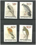 Bophuthatswana 1989 Birds Of Prey Mi 223-226 MNH(**) - Bophuthatswana