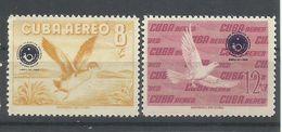 CUBA  YVERT  AEREO  210/11   MNH   ** - Poste Aérienne
