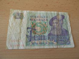Schweden Rksbank 5 Konor 1978 - Zweden