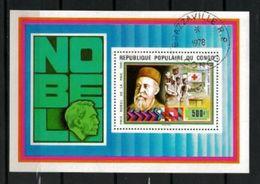 Célébrités Congo 1978 (3) Bloc Yvert N° 16 Oblitérés Used - Henry Dunant