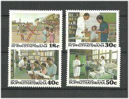 Bophuthatswana 1990 Community Services.. Mi 231-234 MNH(**) - Bophuthatswana