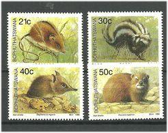 Bophuthatswana 1990 Animals, Mammals.. Mi 235-238 MNH(**) - Bophuthatswana