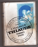 CATALOGUE TIMBRES THIAUDE 1969 FRANCE ET COLONNIES - Frankreich