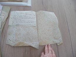 Vente Sur Velin 02/01/1621 Gisors Quentin Mahault écuyer Sieur De Thureuille à Belliers M. Terres - Manuscrits