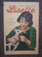 REVUE MAGAZINE LISETTE 5 FEVRIER 1939 HEBDOMADAIRE ILLUSTRÉ N° 6 - Books, Magazines, Comics