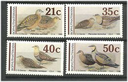 Bophuthatswana 1990  Flying Chickens.. Mi 239-242 MNH(**) - Bophuthatswana