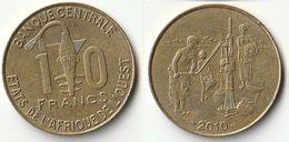Pièce De 10 Francs CFA XOF 2010 Origine Côte D'Ivoire Afrique De L'Ouest - Costa De Marfil