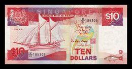 Singapur Singapore 10 Dollars 1988 Pick 20 SC UNC - Singapour