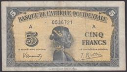 F-EX8715 FRANCE FRANCIA AFRICA OCCIDENTALE 5fr. - France