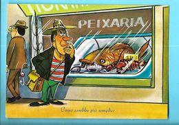 HUMOUR---PEIXARIA--come Sarebbe Piu Semplice--voir 2 Scans - Illustrators & Photographers