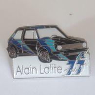PINS GOLF GTI ALAIN LALITE - Rallye