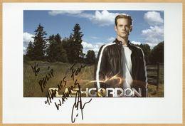 Eric Johnson - Acteur Canadien - Smallville - Grande Photo Dédicacée - 2008 - Autographes