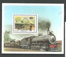 Bophuthatswana 1991 Trains, Railway, Locomotives. Mi Bloc 6 MNH(**) - Bophuthatswana
