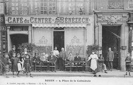 ROUEN - Café Du Centre BENEZECH - 9, Place De La Cathédrale - Rouen