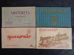 30 GRANDS CARNETS DIFFERENTS + 6 CARNETS DE PHOTOS MINIATURES, VOIR DESCRIPTIONS - Postcards