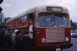 ReproductionPhotographie D'un Bus SNCV Ligne 172 à Charleroi En Belgique En 1966 - Reproductions